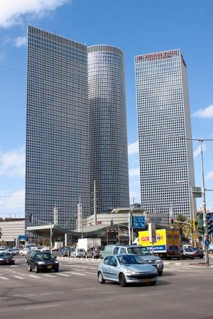 azrieli tower: Tel-Aviv, Israel, february 2011 - Azrieli Center