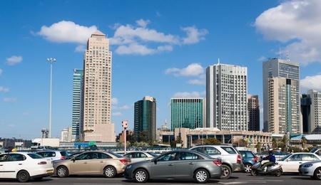 azrieli center: Tel-Aviv, Israel, Panorama of the city