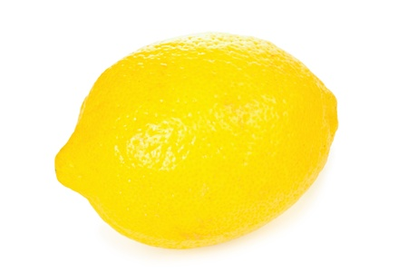 Lemon isolated on white background Stock Photo - 10393895