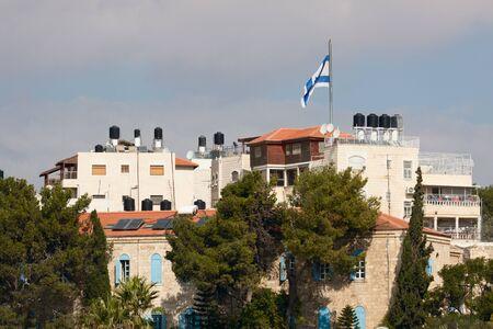 The building in Jerusalem city photo