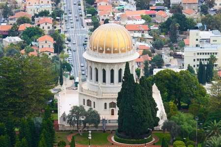 bahaullah: Bahai temple in Haifa, Israel