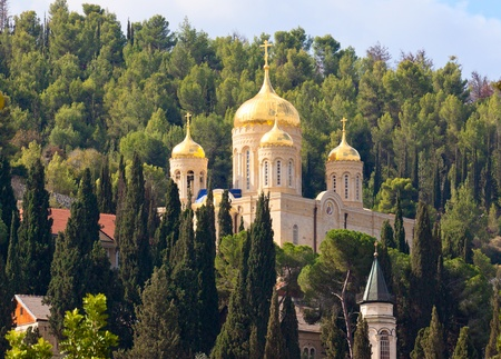 ein: Gorny Russian Orthodox convent, Israel, Ein Karem Stock Photo