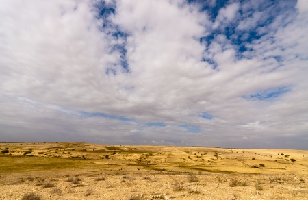 Sky with a clouds over a desert Stock Photo - 13231672