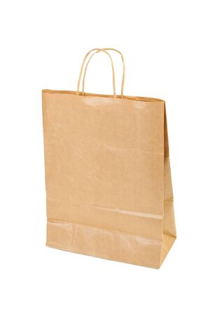 Paper shopping bag isolated on white background Stock Photo - 13623517
