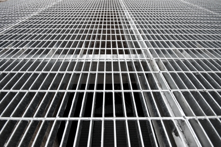 grates: Gray still grates over a well