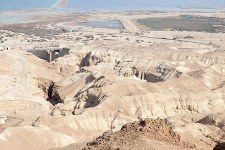 Bridge in a  mountings in Israel Stock Photo - 16674739