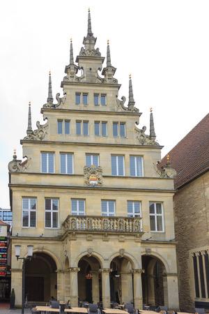munster: Old house in Munster, Rhine-Westphalia, Germany