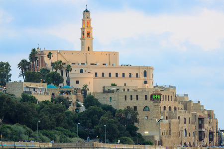 Jaffa, an ancient city in Israel, on the Mediterranean Sea photo
