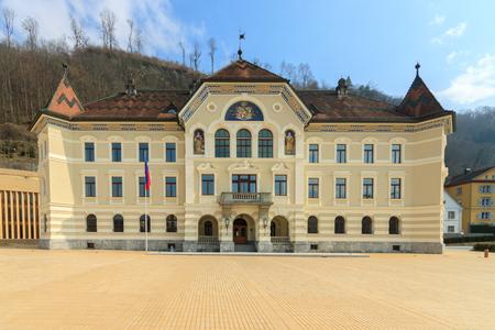 parliaments: Old building of Parliament, Vaduz, Liechtenstein