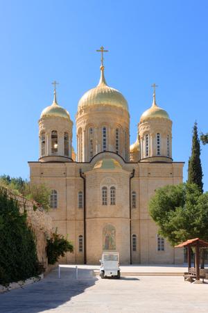 ein: Gorny Russian Orthodox convent in Ein Kerem, Israel