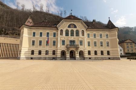 parliaments: The old building of Parliament, Vaduz, Liechtenstein
