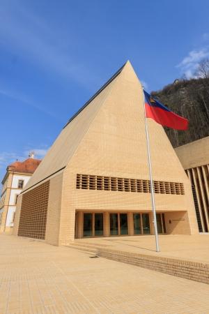 parliaments: Nuovo edificio del Parlamento, Vaduz, Liechtenstein Editoriali