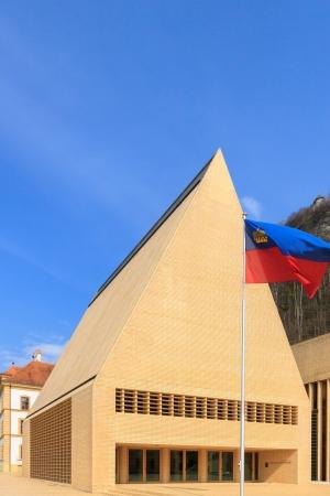 parliaments: Vaduz - 23 03 2013  New building of Liechtenstein