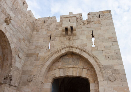 Jaffa gate, in the old city of Jerusalem photo