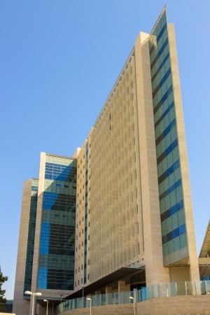 ein: Jerusalem Israel - 10.10.2013: Hospital Hadassah Ein Kerem