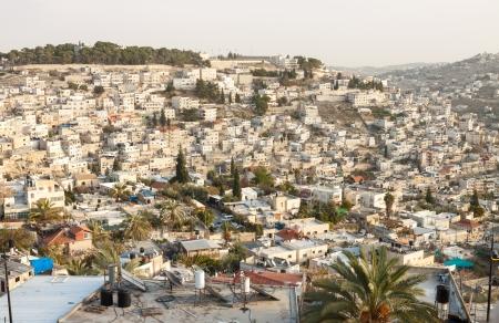 Panorama of Jerusalem photo