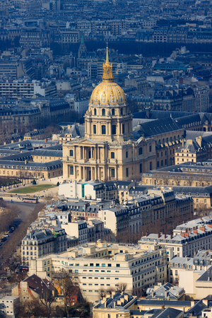 Cathedral Les Invalides in Paris, France photo