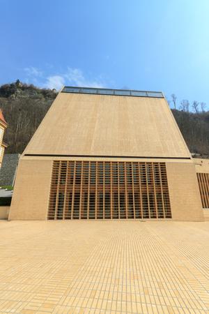 parliaments: Vaduz - 23 03 2013 del nuovo edificio del Parlamento del Liechtenstein Editoriali