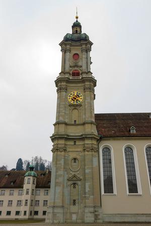 st gallen: Cathedral in St  Gallen, Switzerland Stock Photo