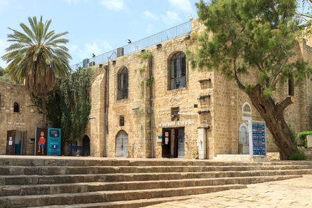 Jaffa  Israel - 20-04-2014: Historical center of old city Jaffa