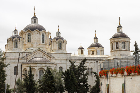 ecclesiastical: Trinity Cathedral of the Russian Ecclesiastical Mission in Jerusalem