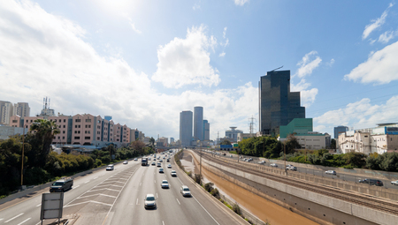 Tel-Aviv, Israel, Panorama of the city