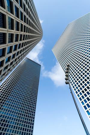 azrieli center: The three buildings of  Azrieli Center in Tel-Aviv  city, Israel
