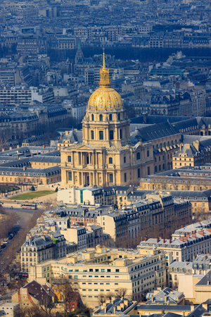 napoleon: Cathedral Les Invalides with Napoleon