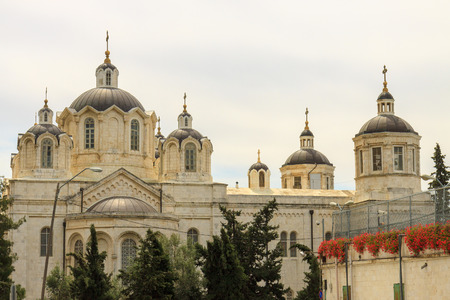 ecclesiastical: The Trinity Cathedral of a Russian Ecclesiastical Mission in Jerusalem