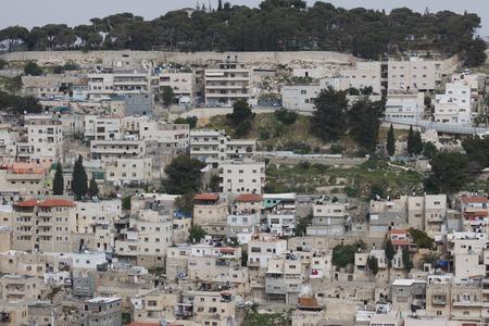 Urban neighborhood of East Jerusalem, Israel