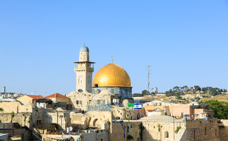 dome of the rock: Mosque of Al-aqsa Dome of the Rock in Jerusalem