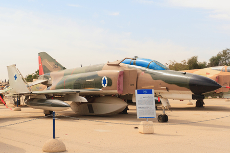 phantom: HATZERIMISRAEL - 22-02-2008: Mcdonnel Douglas RF-4E Phantom in air force museum