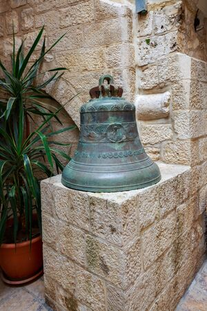 The ancient Russian bell in Jerusalem
