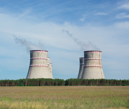 energy industry: Nuclear power plant. Energy industry.