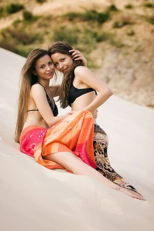 erotically: Beach Stock Photo