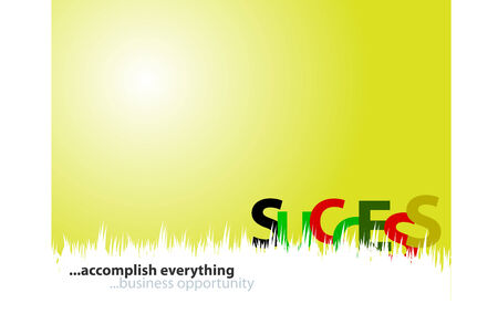 accomplish: accomplish everything, business background for cover, flyers, posters,