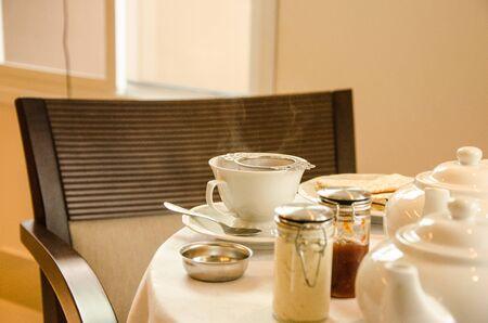 teatime: tea-time table, food, drink, hot beverage, English, English tea, brunch, plates, beverage, skmoke,