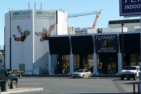 flyaway: Las Vegas - 2008:  Flyaway Indoor Skydiving