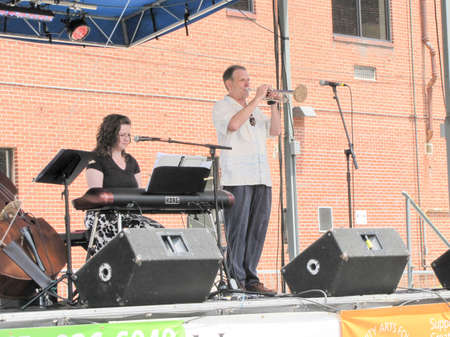 Johnson City, Tennessee, United States:  Blue Plum festival - Musical performance