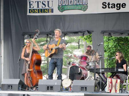 Johnson City, Tennessee / United States: 06-08-2013 - Musical performance Publikacyjne