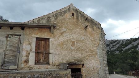 starigrad: Old house, Starigrad-Paklenica, Croatia Editorial