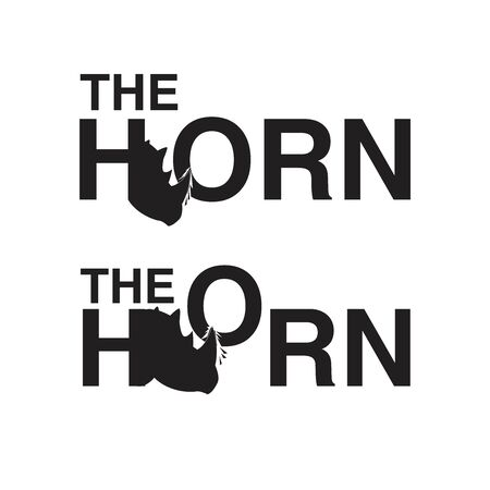 rhino the horn logo bundle set