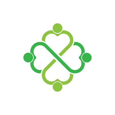 people love community logo template