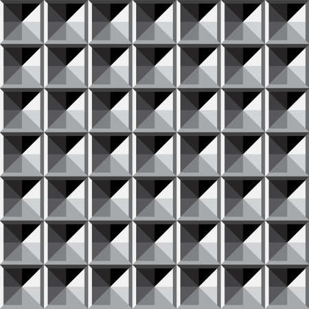 simple abstract geometric monochrome pattern texture vector