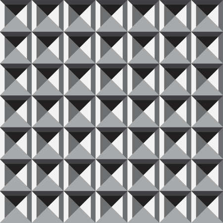 simple abstract geometric monochrome pattern texture vector 스톡 콘텐츠 - 151188215