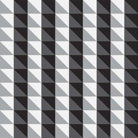 simple abstract geometric monochrome pattern texture vector 스톡 콘텐츠 - 151188213