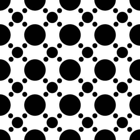 black and white circle dot vector pattern 일러스트