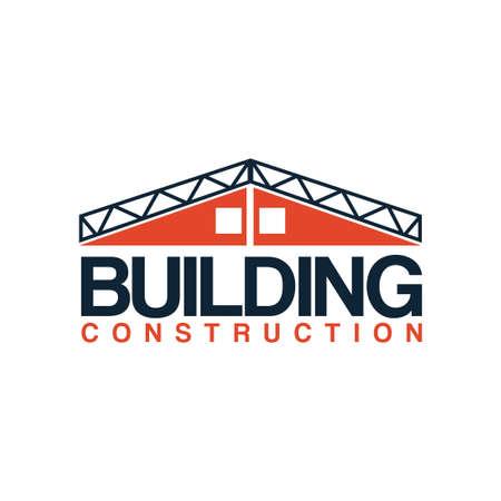 building construction logo vector template