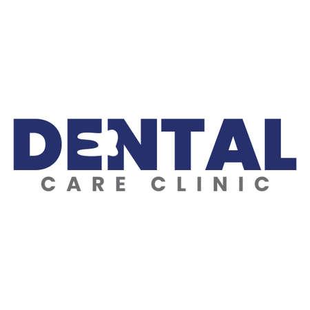modern dental care clinic logo template