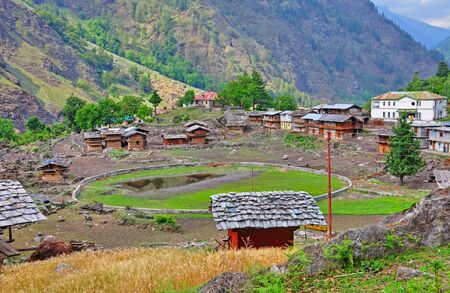 underdeveloped: a rural part in Indian Himalayas